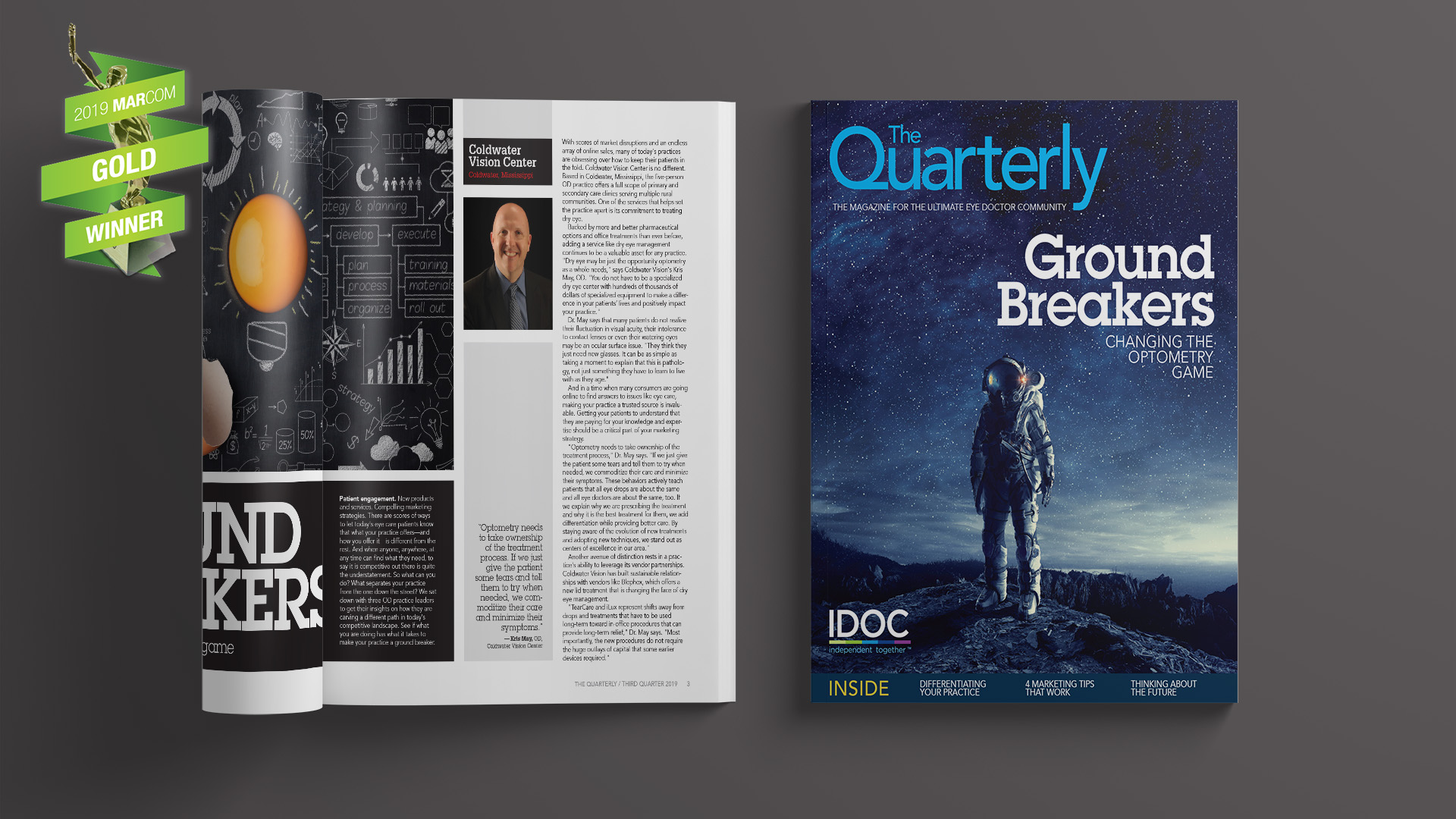 Conduit, Inc. | The Quarterly 2019 Marcom Gold Award Winner